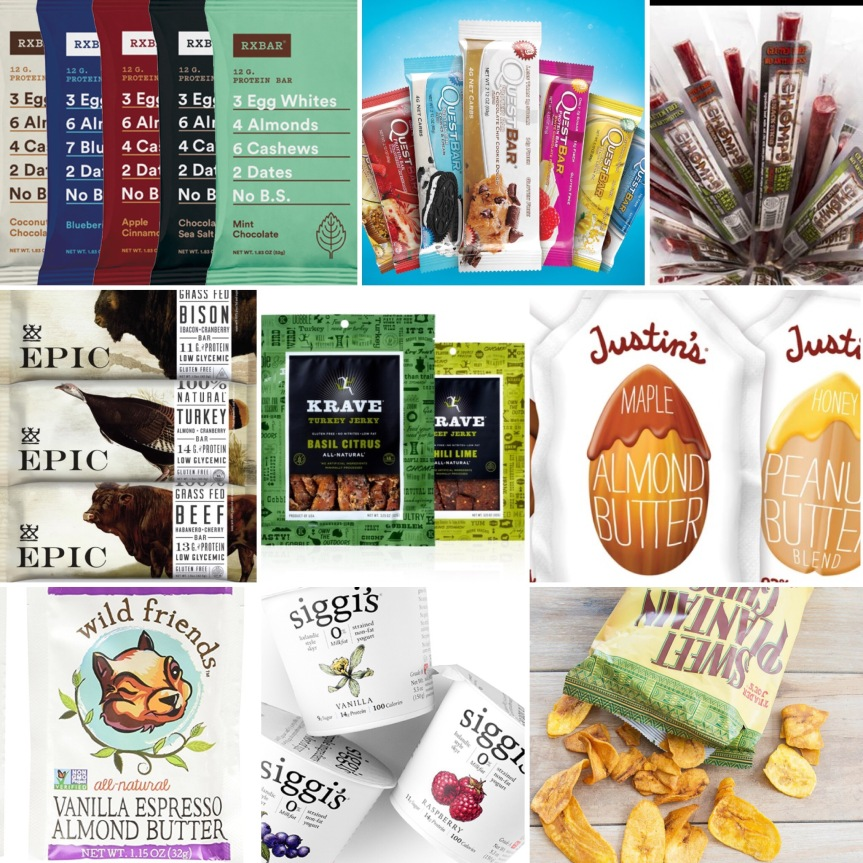 Friday Favorites: Grab & Go Packaged Snacks
